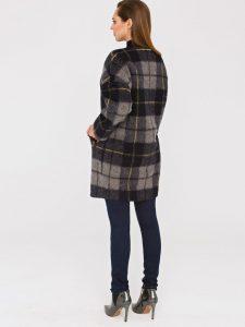 Płaszcz PARAGON odmarki L'AF - trendy płaszcz wkratę