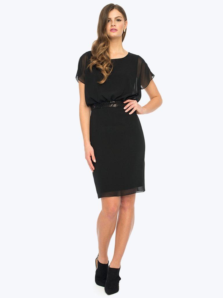 Sukienka LONDA L'AF - mała czarna naróżne okazje.