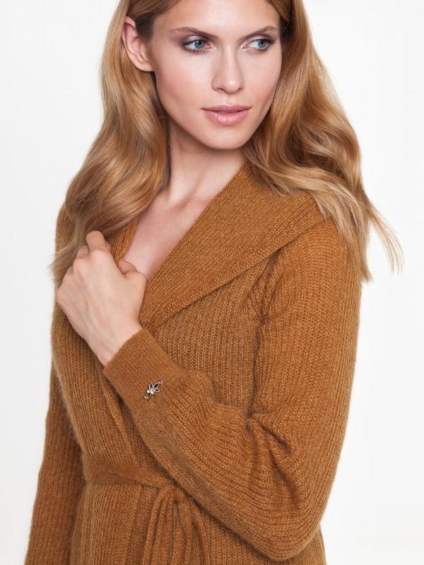 Sweter JULIA L'AF - sweter, którymożna nosić zamiast płaszcza