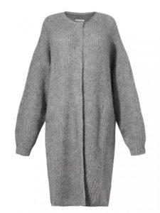 Sweter DANGA L'AF - jednolity sweter zdodatkiem moheru.