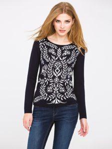Sweter FROZEN L'AF w stylu vintage