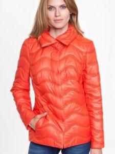 Pomarańczowa pikowana kurtka TOBI L'AF