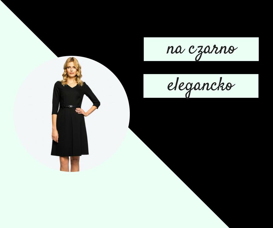 Czerń jako klasyka elegancji biznesowej - eyeforfashion
